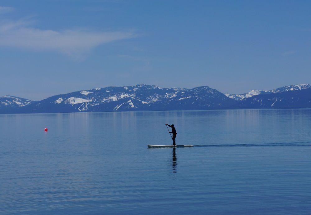 Lake Tahoe vinterferie