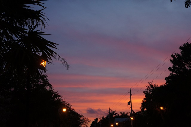 Key West solnedgang